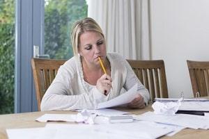 Den Antrag auf Prozesskostenhilfe müssen Sie mit Informationen über Ihr Einkommen ergänzen.