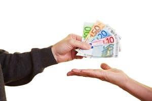 Prozessfinanzierer erwarten eine Erfolgsbeteiligung als Bezahlung.